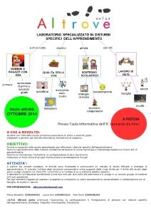 Volantino Laboratorio Altrove 2014-15 Leonardo